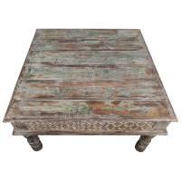 Couchtisch Indischer Bajot Orientalischer Orient Tisch 80cm Unikat Einzelstück 5