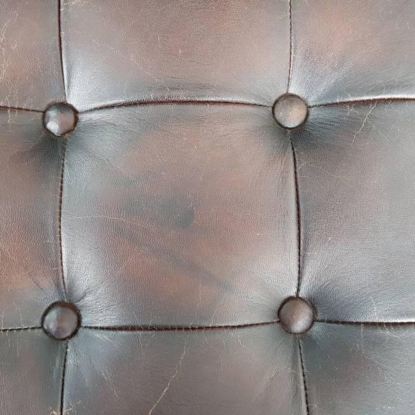 Club-Sessel Lounge-Sessel Schwarz braun Leder Barcelona Bauhaus Designer Chair