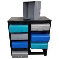 Kommode Anrichte 8 Schubladen Schrank Metall Industrie Design Style Unikat 7