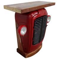Kommode Traktor Schrank rot Sideboard Anrichte Industrie Möbel Metall Ferguson