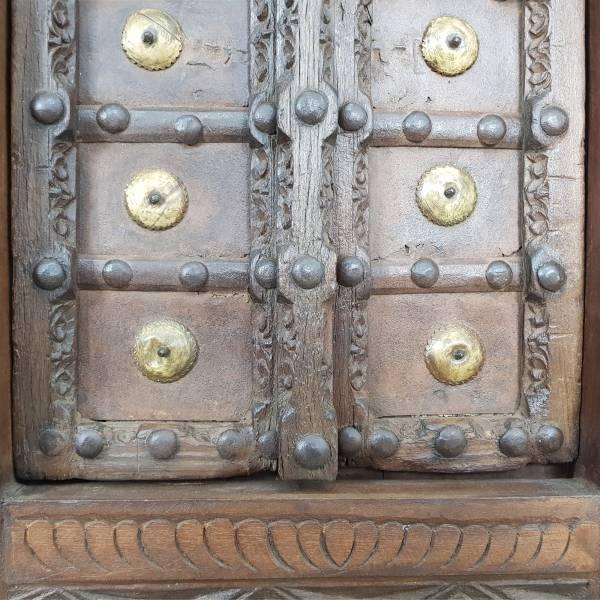 Indische Fenster mit Rahmen Fensterladen Fensterrahmen Einbau Alt Antik Unikat 1