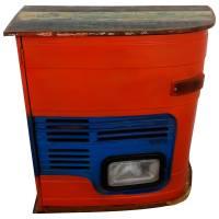 Kommode Sideboard Schrank Vintage Design Metall Anrichte Tata Front Industrial