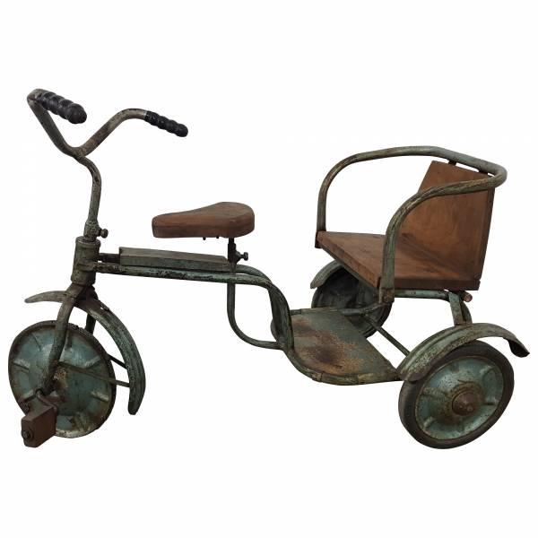 Dekoartikel Bike Fahrrad Metall Holz Vintage Design Industrial Stil Art Lounge