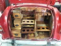 Auto PKW Bar-Schrank rot Klappbar Loft Vintage Industrie Industrial Design Heck