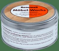 Renuwell Möbel Wachs 500 ml Holzwachs für gewachste und offenporige Holzarten