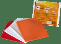 Renuwell Möbel Poliertuch 100% fusselfreies polieren - Baumwolltuch 4er Set
