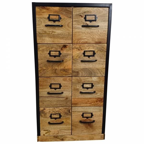 Apothekenschrank Schrank Apothekerschrank Kommode Apotheken Design Holz Anrichte