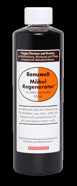 Renuwell Möbel Regenerator 500ml gegen Flecken und Kratzer