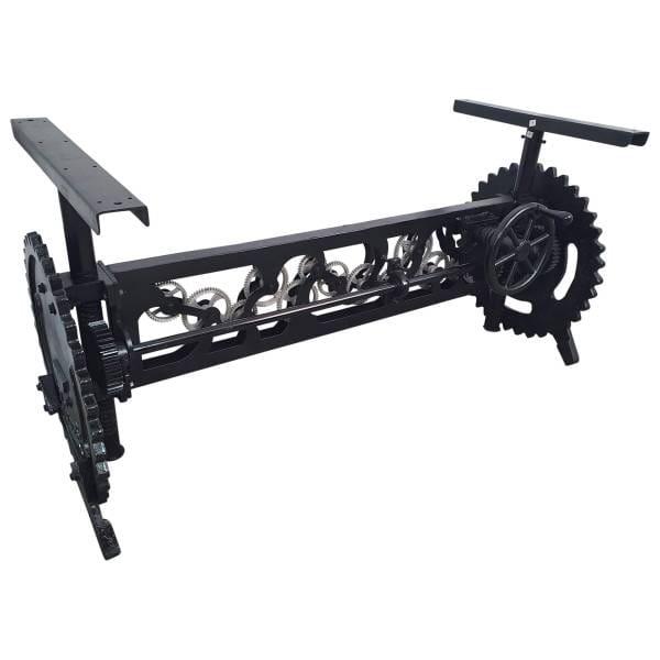 Esstisch Gestell höhenverstellbar Kurbel Esszimmertisch Vintage Crank Table
