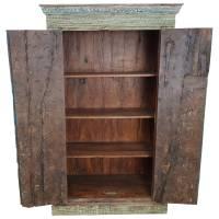 Schrank antike Türen Damachiya Vintage Taste of India Massiv-Holz Antik Unikat